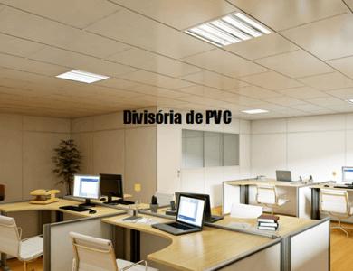 Instalação de Divisória de PVC